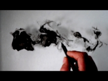 Io dissolto 2014 video performance di scrittura sull'acqua_durata 5 min_still video